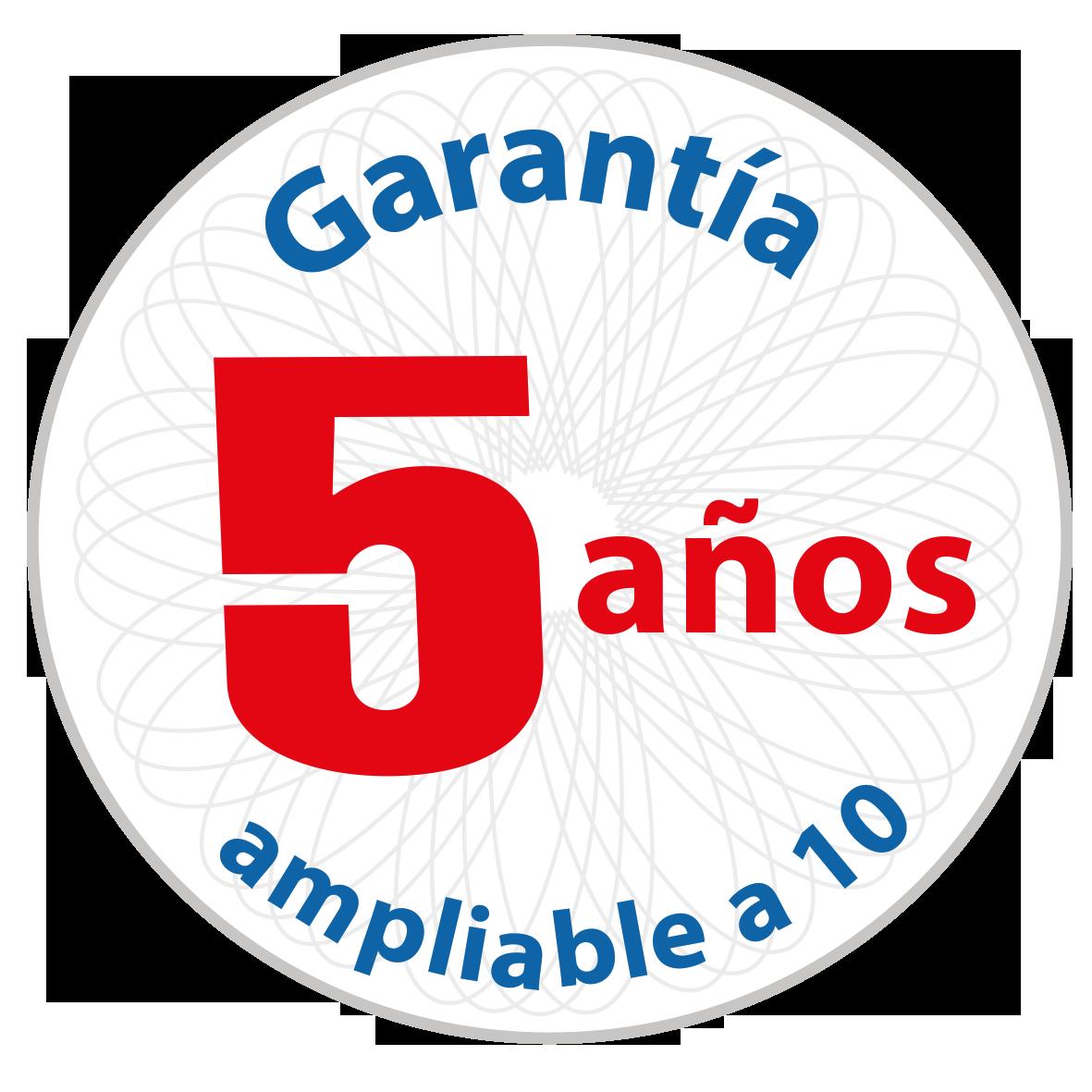 Garantia 5-10 anos