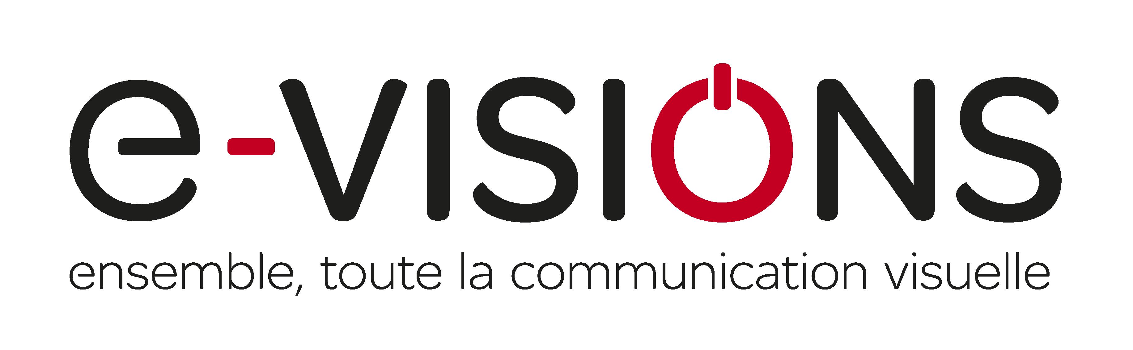 Nouveau Logo e-visions